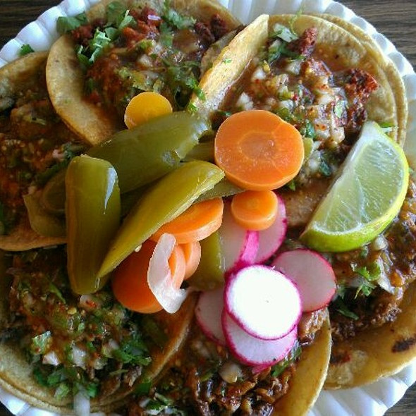 Tacos @ Taqueria Sinaloa