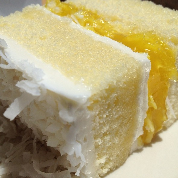 lemon coconut cake @ HS Lordship's Restaurant