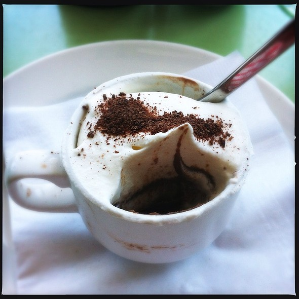 chocolate espresso pot de creme - zinc@shade, Manhattan Beach, CA