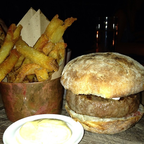 Lamb Burger @ The Breslin