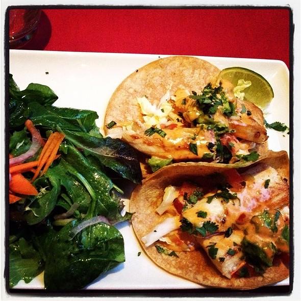 Mahi Mahi Tacos @ Nola's Restaurant & Bar
