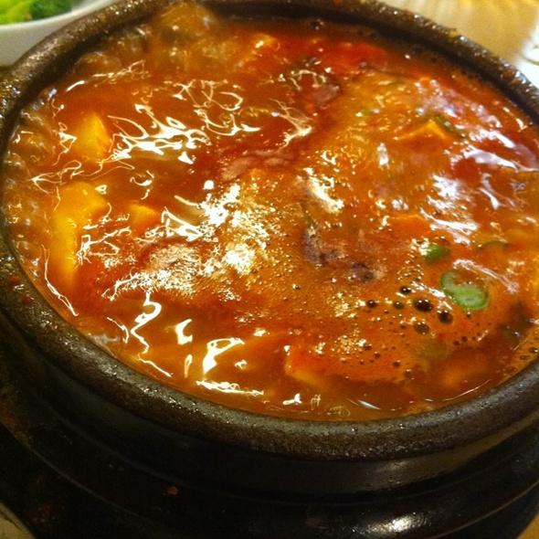 Curry Soft Tofu Stew @ Convoy Tofu House