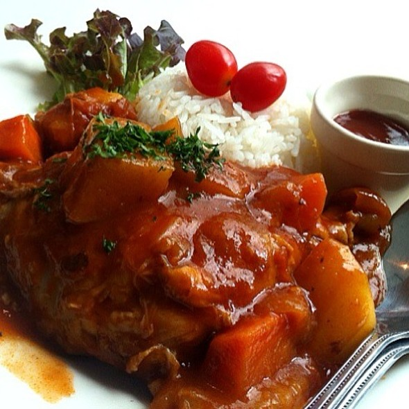Stewed Chicken Tomato Sauce @ Le Pan-ya home made bakery