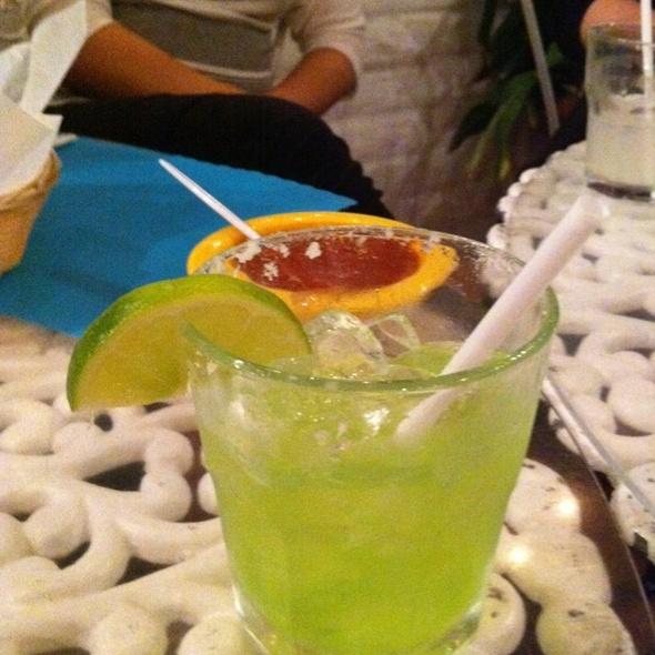 Midori Melon Margarita @ Fidel's Little Mexico