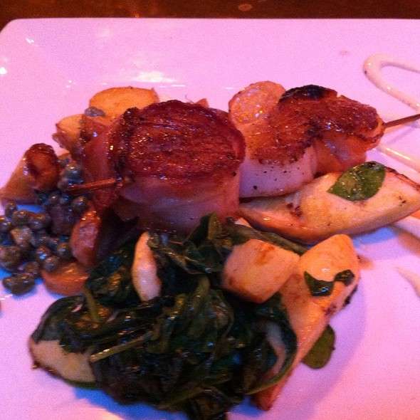 Bacon Wrapped Scallops - Brazo, Portsmouth, NH
