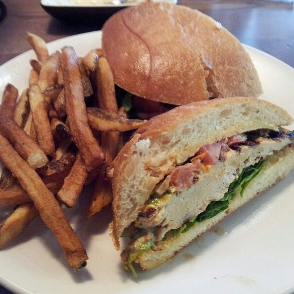 Southwestern Grilled Chicken Sandwich @ Not Your Average Joe's