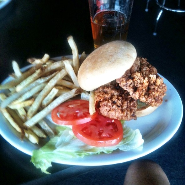 Chicken Fried Steak Sandwich @ Uncle Jack's Bar & Grill
