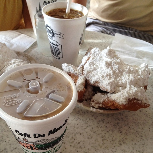 Beignets and Iced Cafe Au Lait