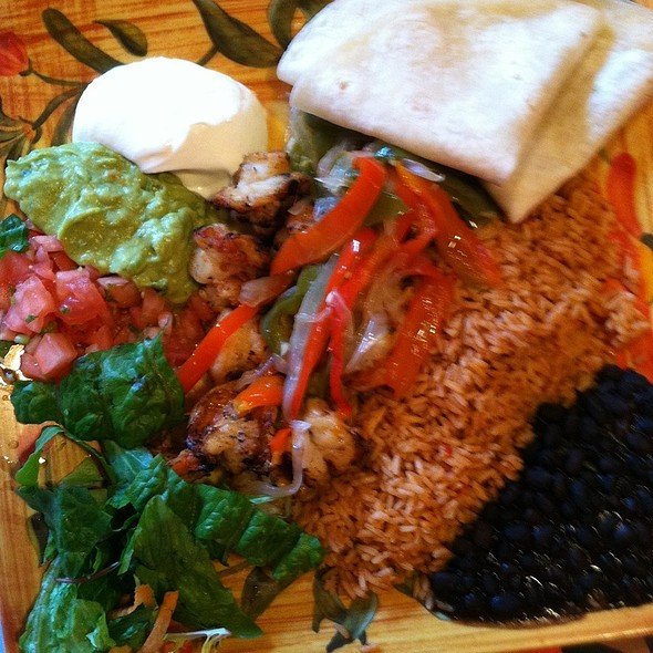 Fajita Fiesta Platter - Shrimp