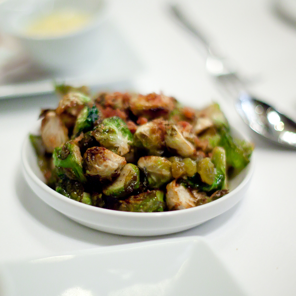 Roasted brussels sprouts @ Alexander's Steakhouse