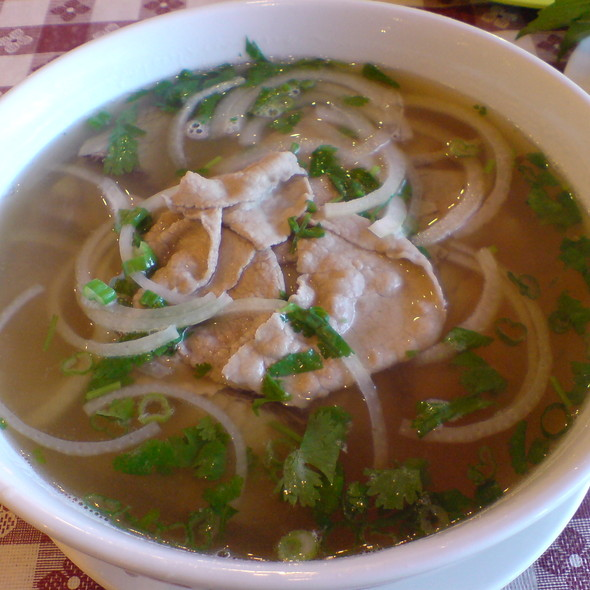 Beef Pho @ Fast Wok Restaurant