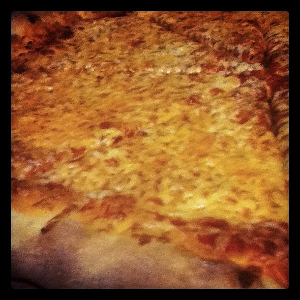 Pizza Time! @ Mike's Pizza
