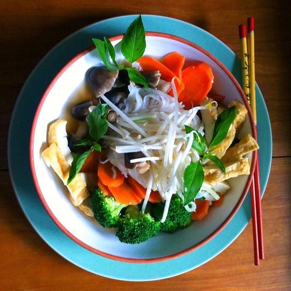 Veggie Pho With Tofu @ Than Brothers Pho