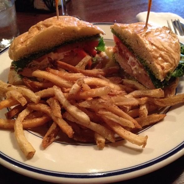 Grilled Chicken & Pesto Sandwich - Marie Louise Bistro, Baltimore, MD