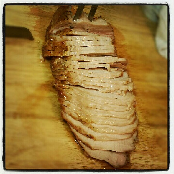Rotisserie Pork Loin @ Home