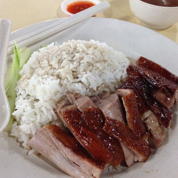 Roasted Duck With Rice @ oasis foodcourt