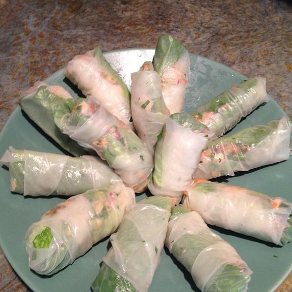 Vietnames Spring Rolls @ Home