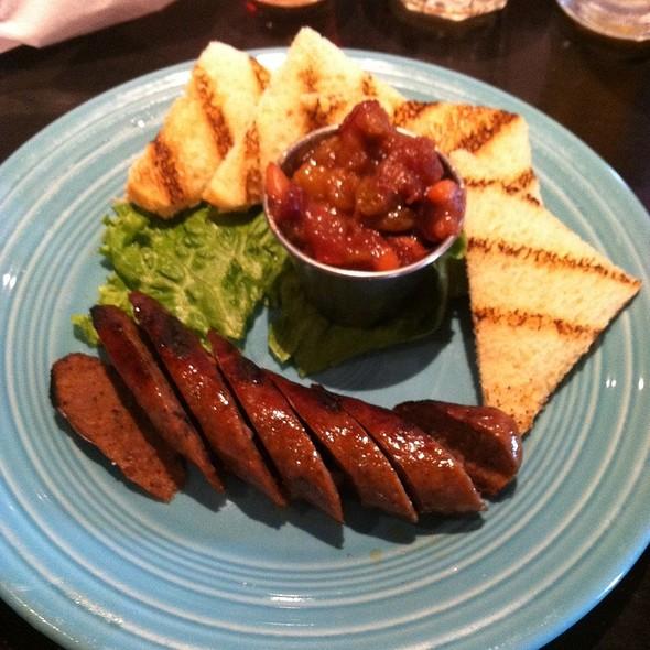 Venison Sausage @ Linda Bean's Maine Kitchen & Topside Tavern