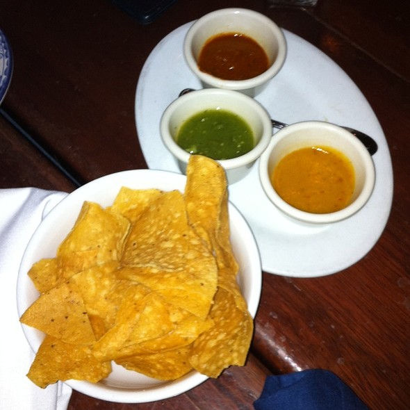 Chips And Salsas - Colibri - Mexican Bistro, San Francisco, CA