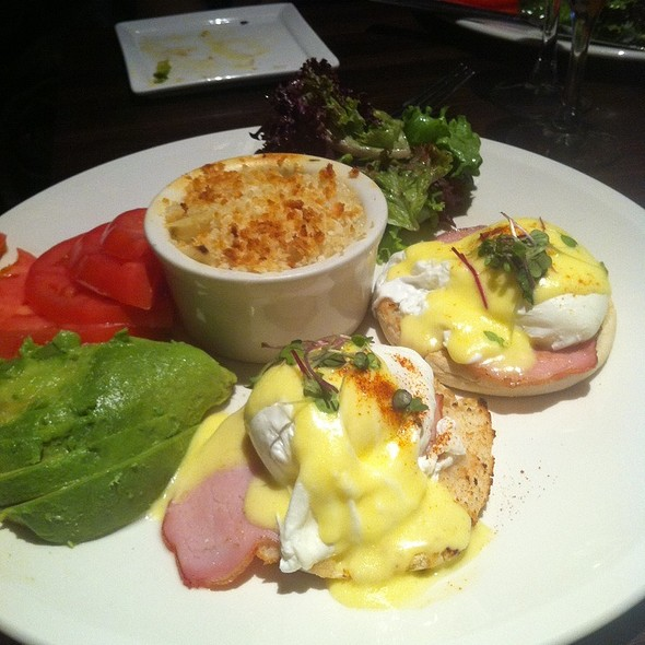 Eggs Benedict - Urbana Dining & Drinks, Washington, DC