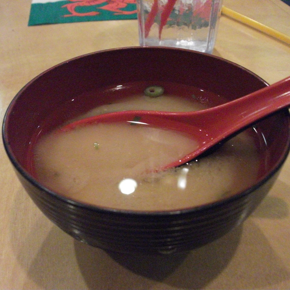 Miso Soup @ Sushi House