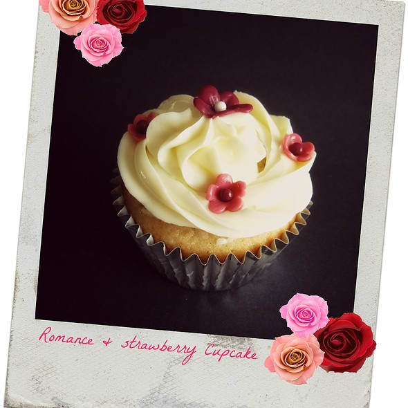 Strawberry Cupcake @ Sweet Pleasure Confections