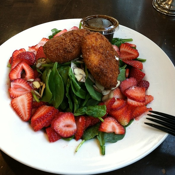 Fried Goat Cheese Salad @ Whole Foods Market