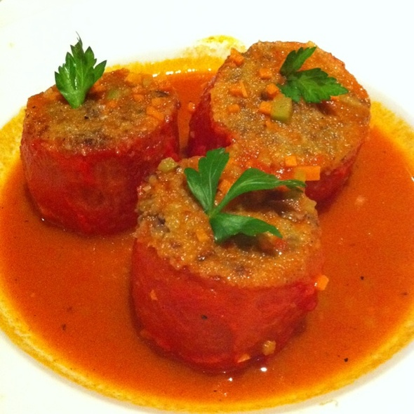 Stuffed Tomatoes @ White Shallot