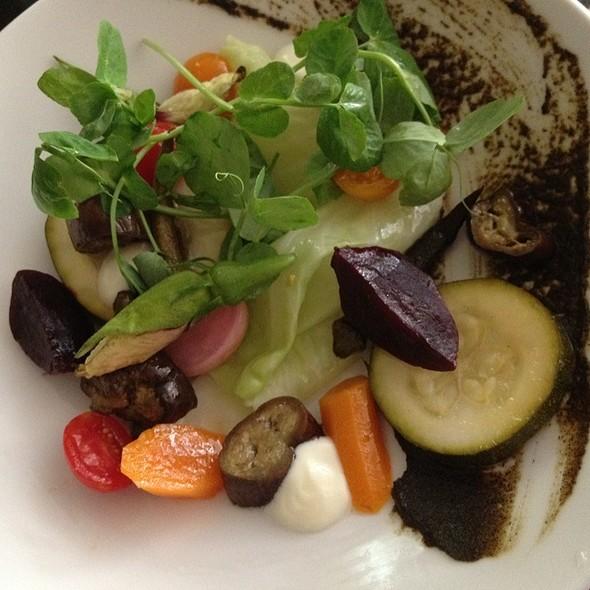 Composed Seasonal Vegetable Salad @ ripple
