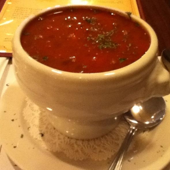 vegan chili - Dario's Brasserie, Omaha, NE