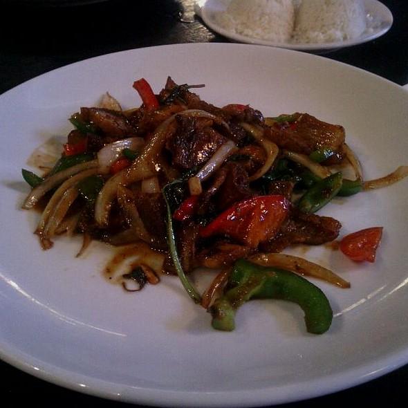 Crispy Spicy Pork @ SEA Thai Restaurant