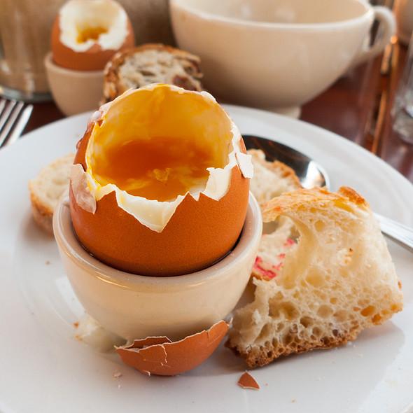 Soft Boiled Egg @ Le Pain Quotidien