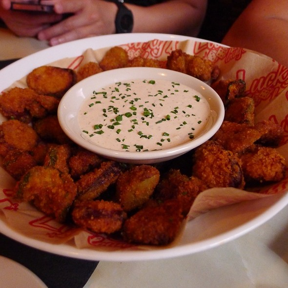 Fried Pickles - Lucky's Lounge, Boston, MA