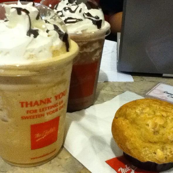 Cappuccino Chiller @ Mrs. Fields Shangri-La Mall