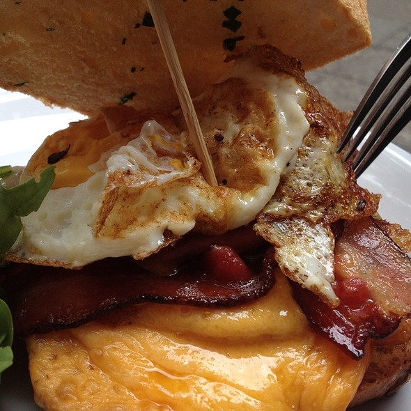 Bacon Breakfast Sandwich @ East London
