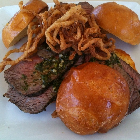 Tri Tip Sliders @ Cove Bar