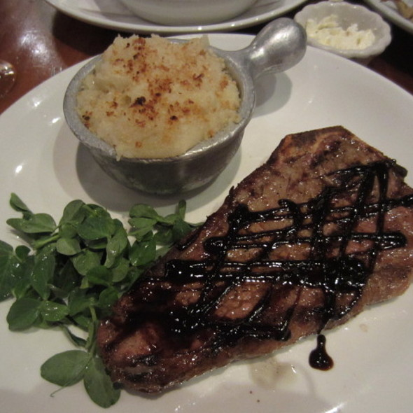Bone in NY Shell Steak - Knickerbocker Bar and Grill, New York, NY