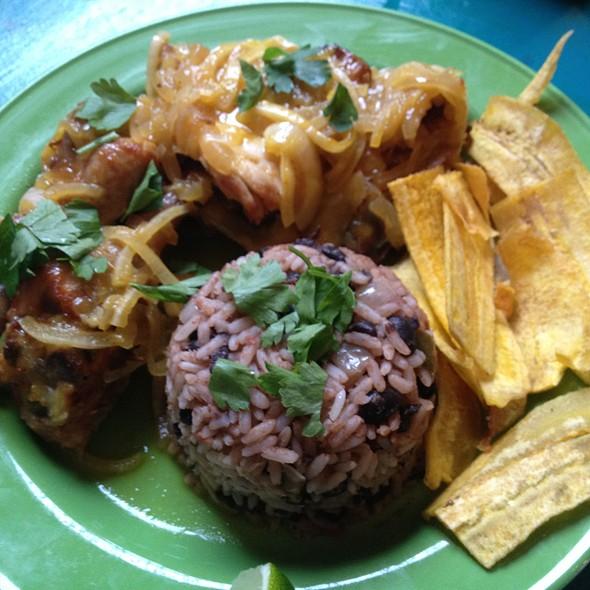 Pollo Criollo @ Cubana Bar Restaurant