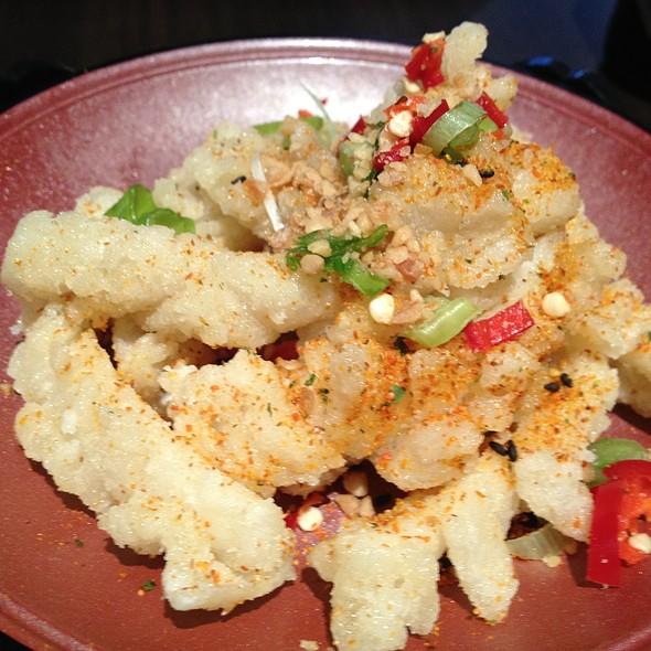 Squid With Garlic And Chilli @ Hakuba Restaurant