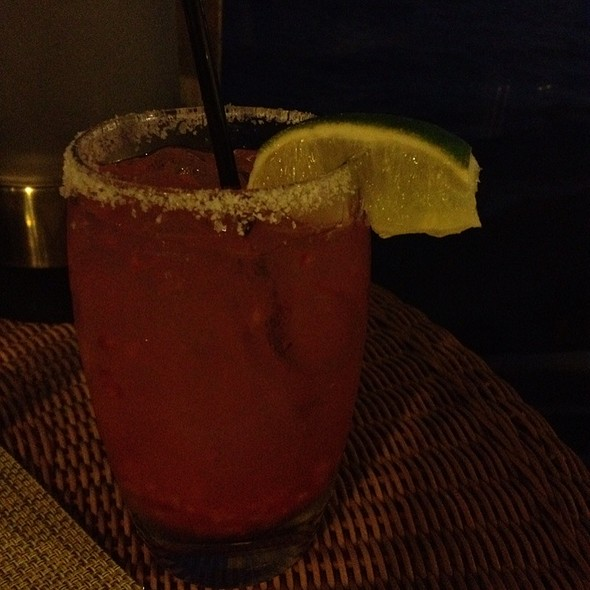 Red Margarita - Carbon Beach Club Restaurant (The Dining Room) @ Malibu Beach Inn, Malibu, CA