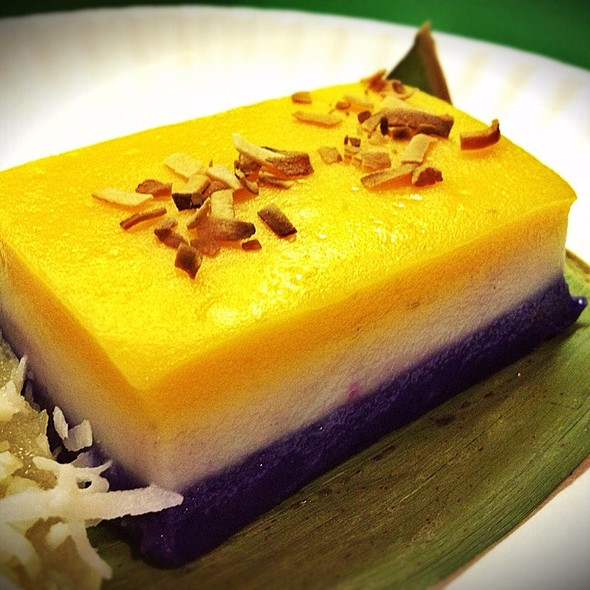 Sapin-Sapin @ Kuya's Foodexpress Filipino Restaurant
