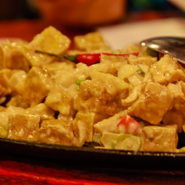 Sizzling Tofu @ Max's Restaurant