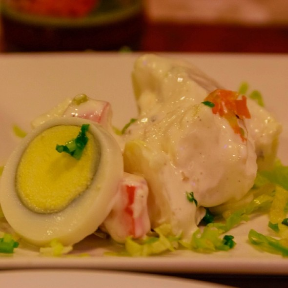 Potato Salad @ Max's Restaurant