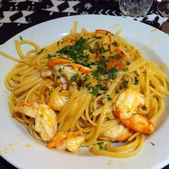 Pasta with Prawns @ Lorena's Home
