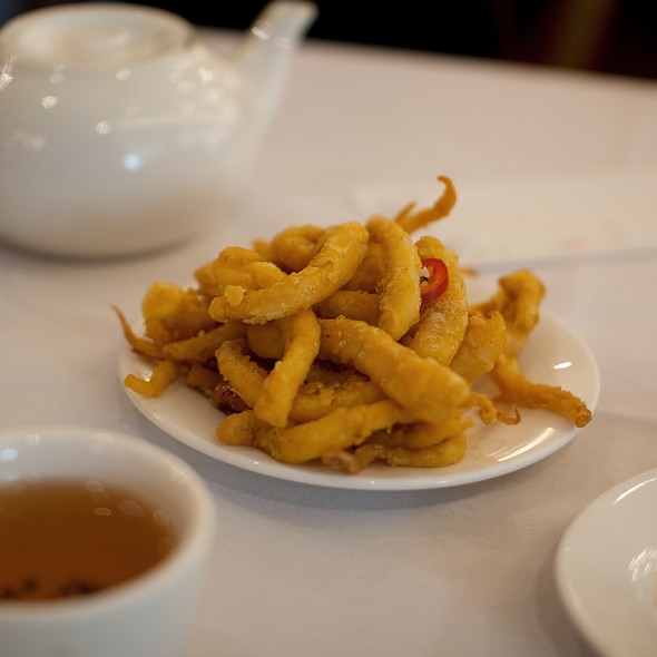 Fried Squid @ Kam Fook Chatswood