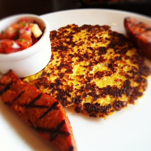 Arepa Con Chorizo - Stephi's On Tremont, Boston, MA