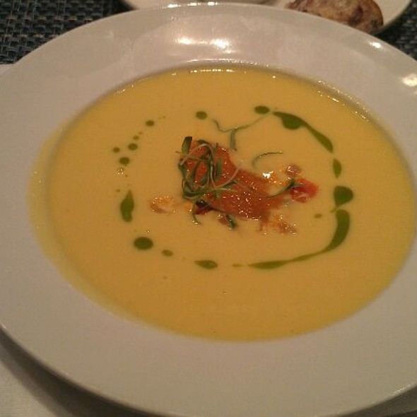 Chilled Corn Soup - Strand Bistro at Marriott Vacation Club Pulse, New York, NY