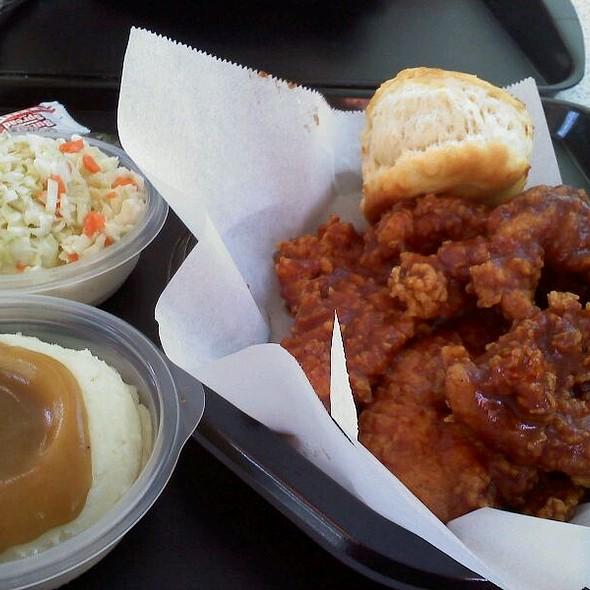Honey BBQ Chicken Strips @ KFC