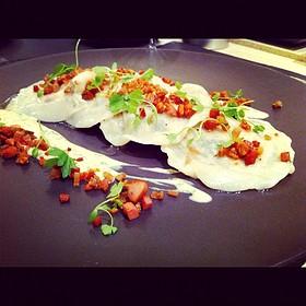 Spinach Chorizo And Ricotta Ravioles