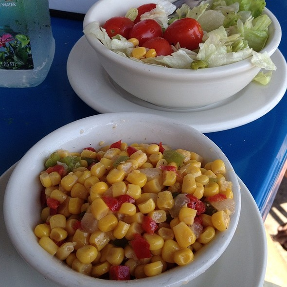 Cold Corn Salad @ Smitty's Clam Bar